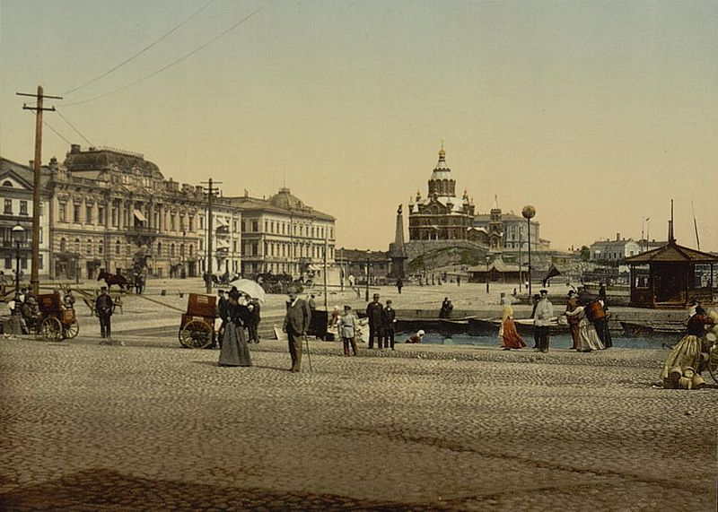 Helsingfors då och nu